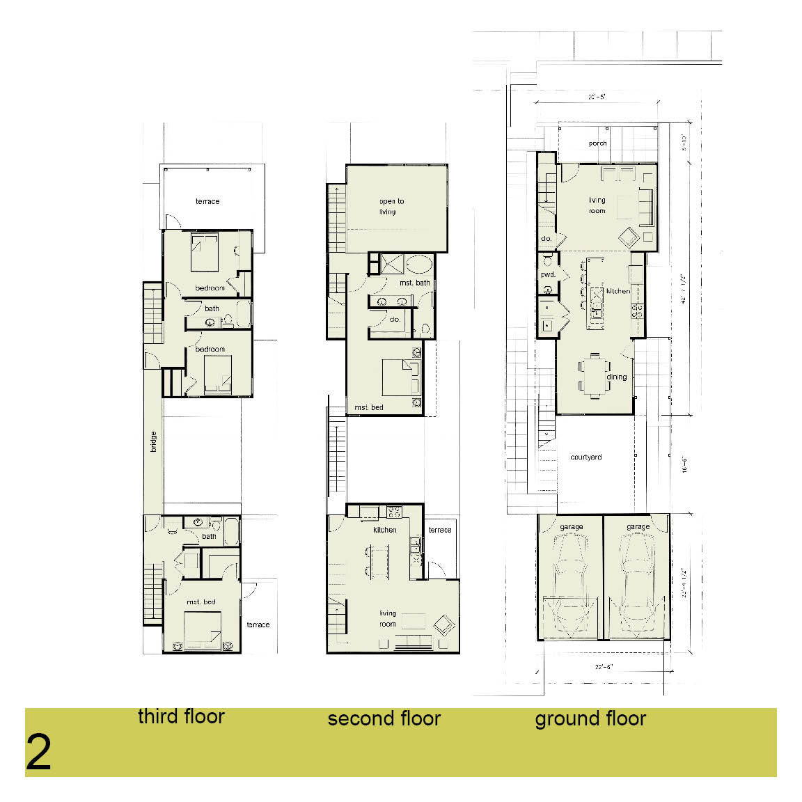 urban infill house plans 28 images 2 story 3 bedroom