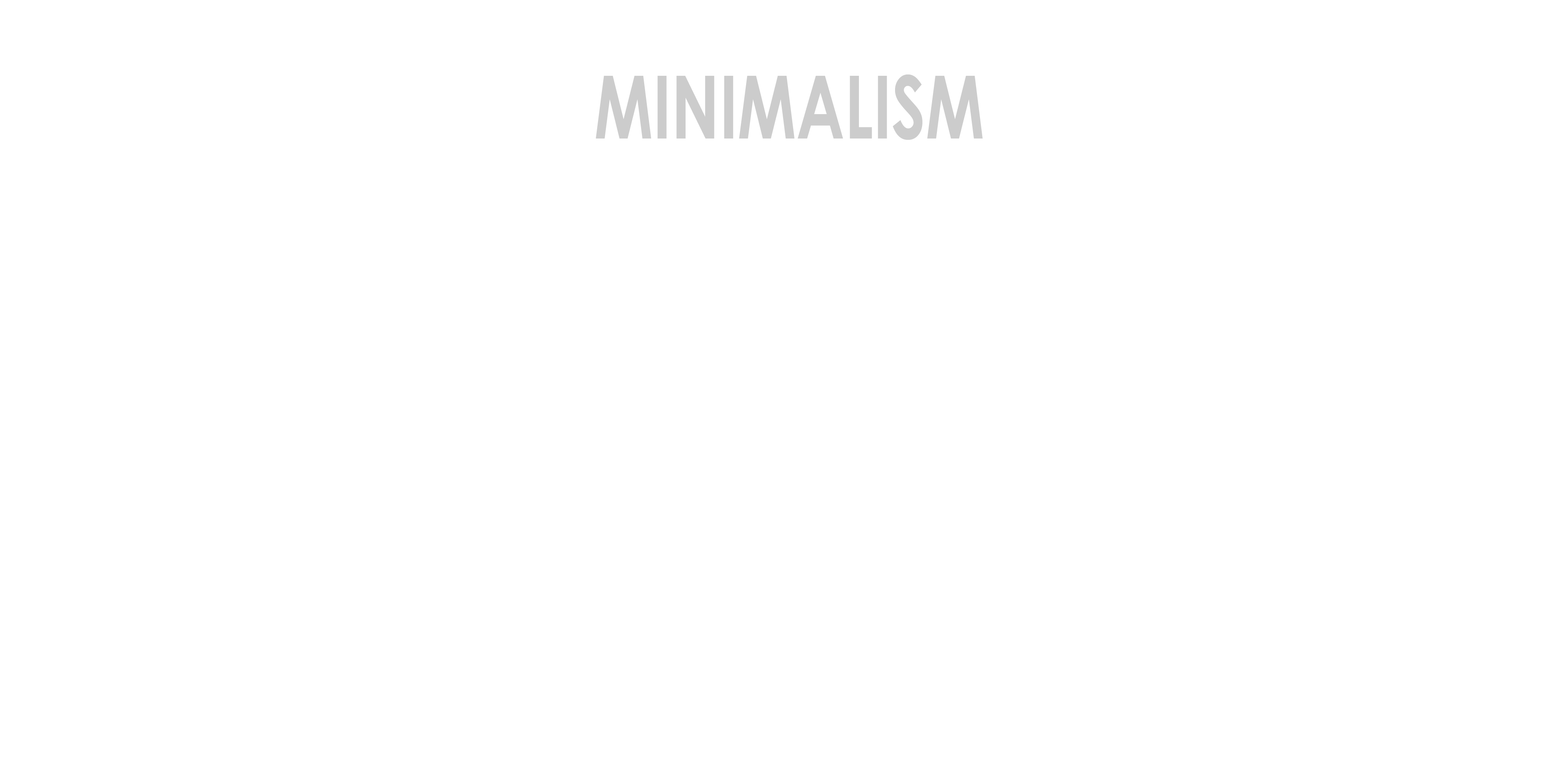 ten representations of minimalism coffee with an architect