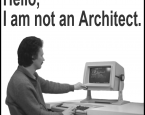 I'm an Architect. I am not a systems Architect, a computer Architect, a software Architect, a technical architect, a web architect, an R&D processor Architect, an IT systems application Architect,...