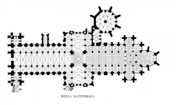 Wells Cathedral Plan - appears to have a growth. You should get that checked out.