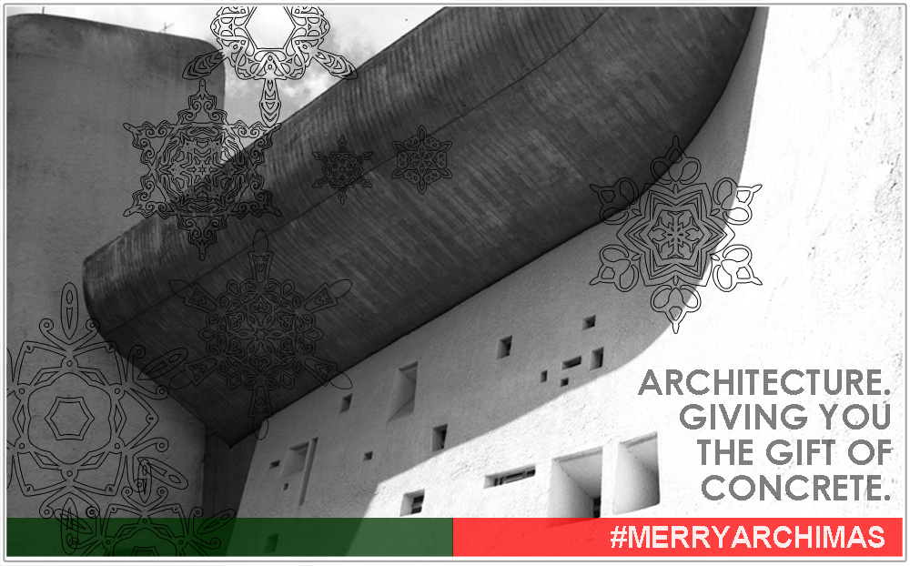 Merry Christmas from the Architects