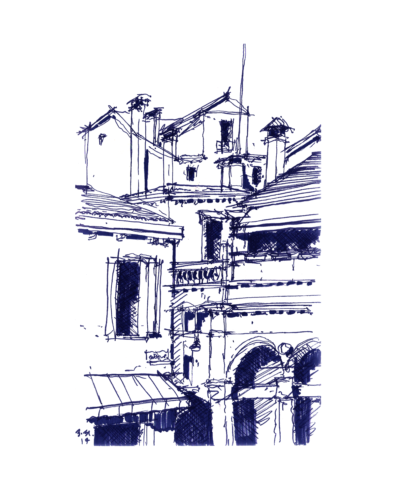 Sketches of Venice